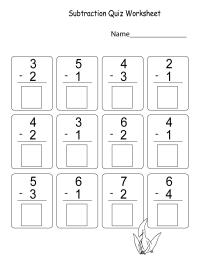 Math Worksheets for Kindergarten Addition and Subtraction ...