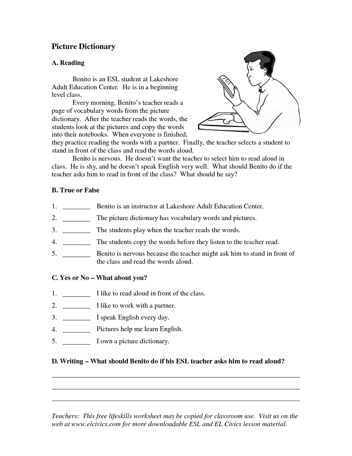 Education Worksheets For Kids And Adult To Print