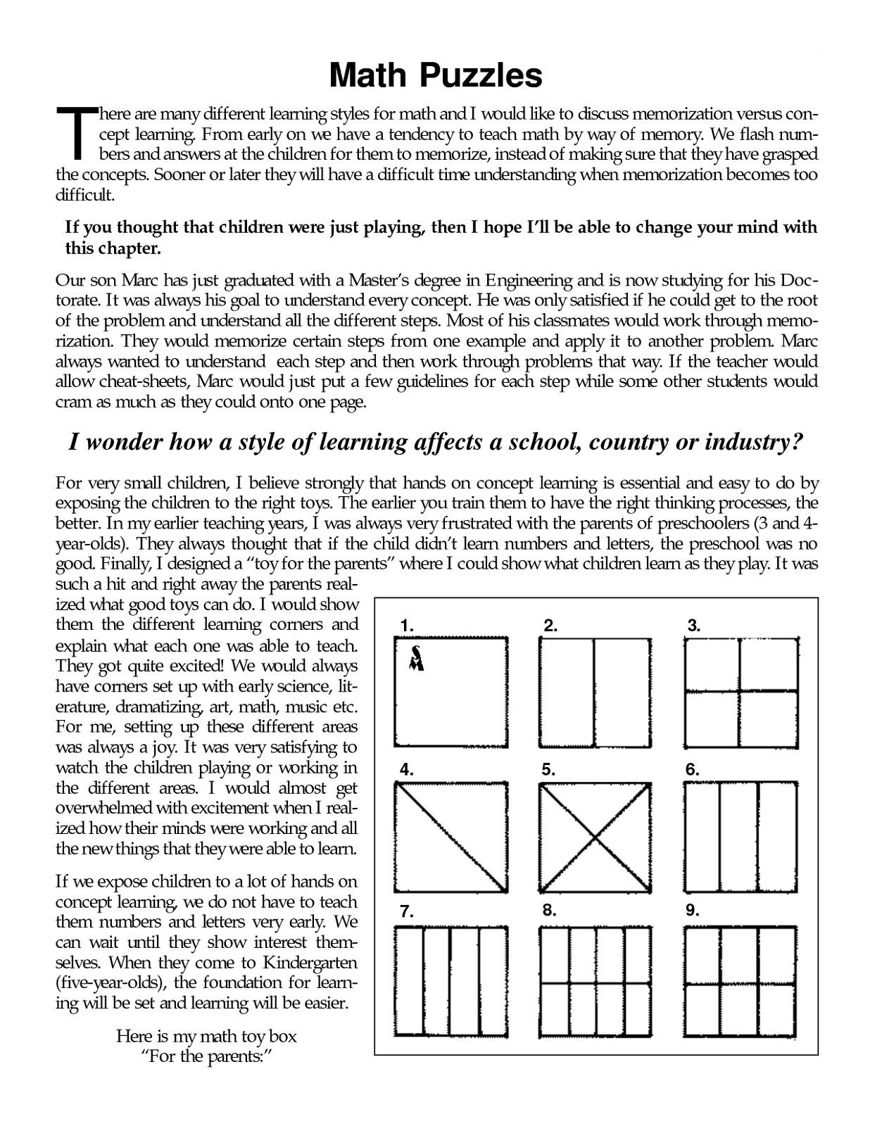 Spring Puzzles Printable Worksheet For Middle School