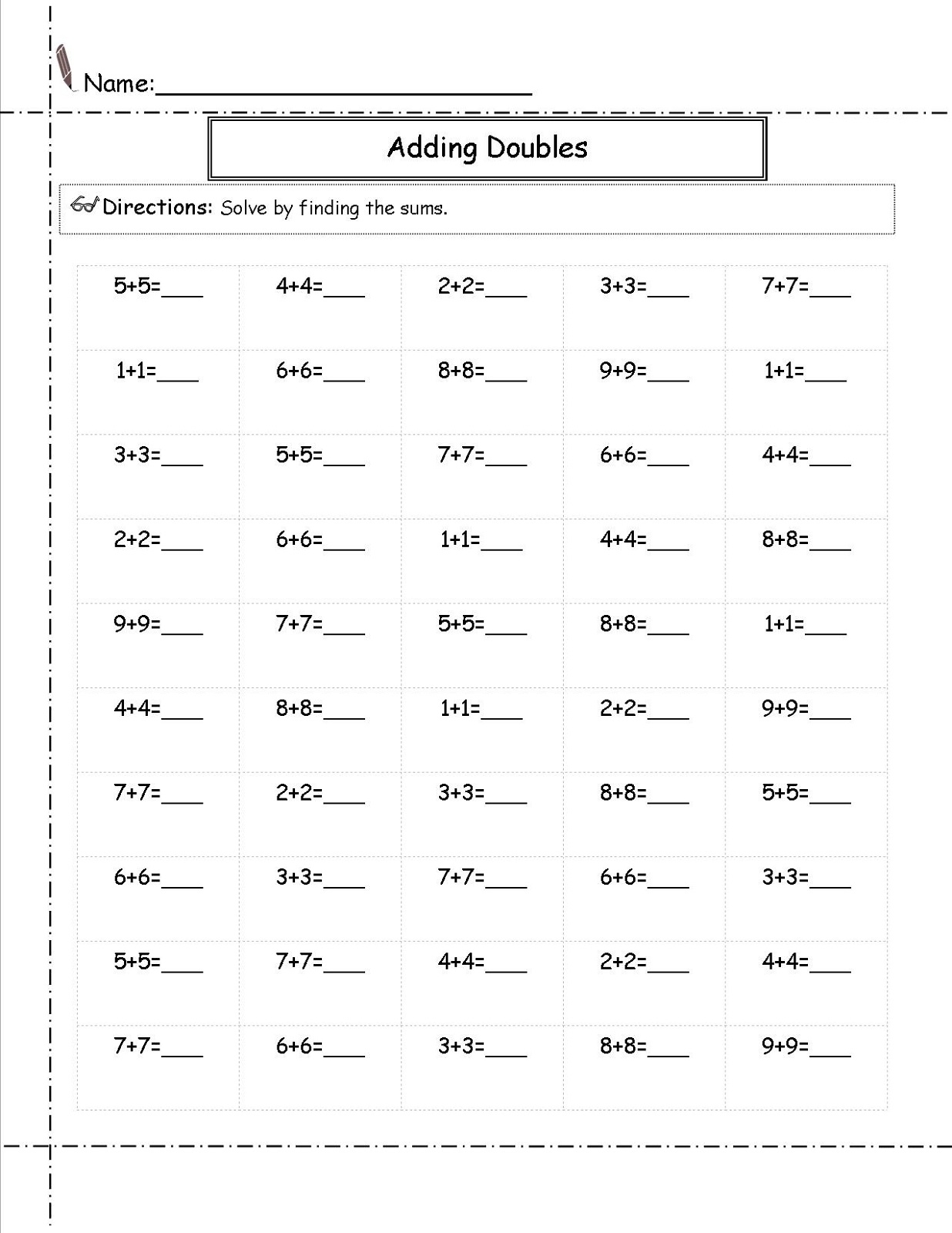 Printable 2nd Grade Math Worksheets Free Learning Printable