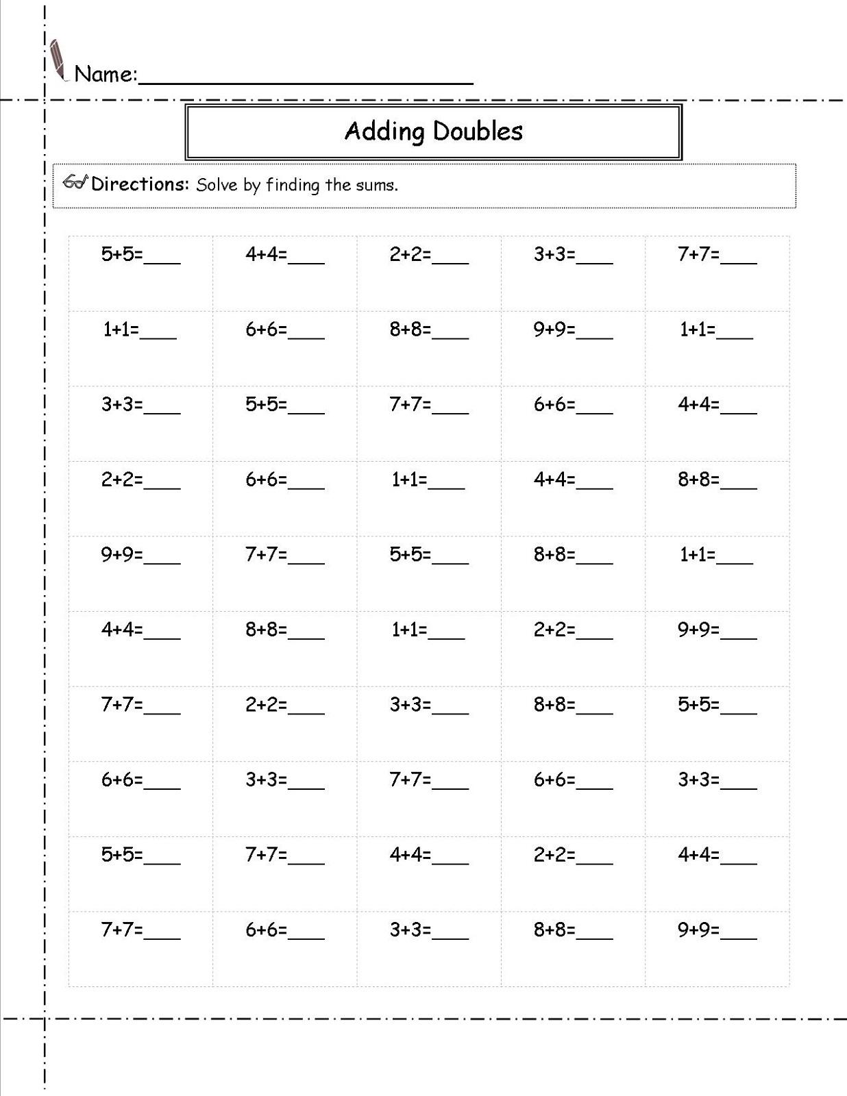 Printable 2nd Grade Math Worksheets Free Learning Printable