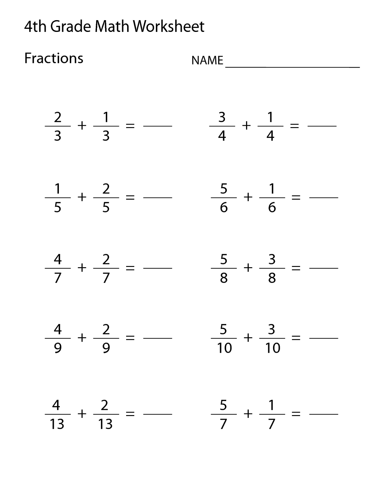 6 Grade Worksheet Printable Learning