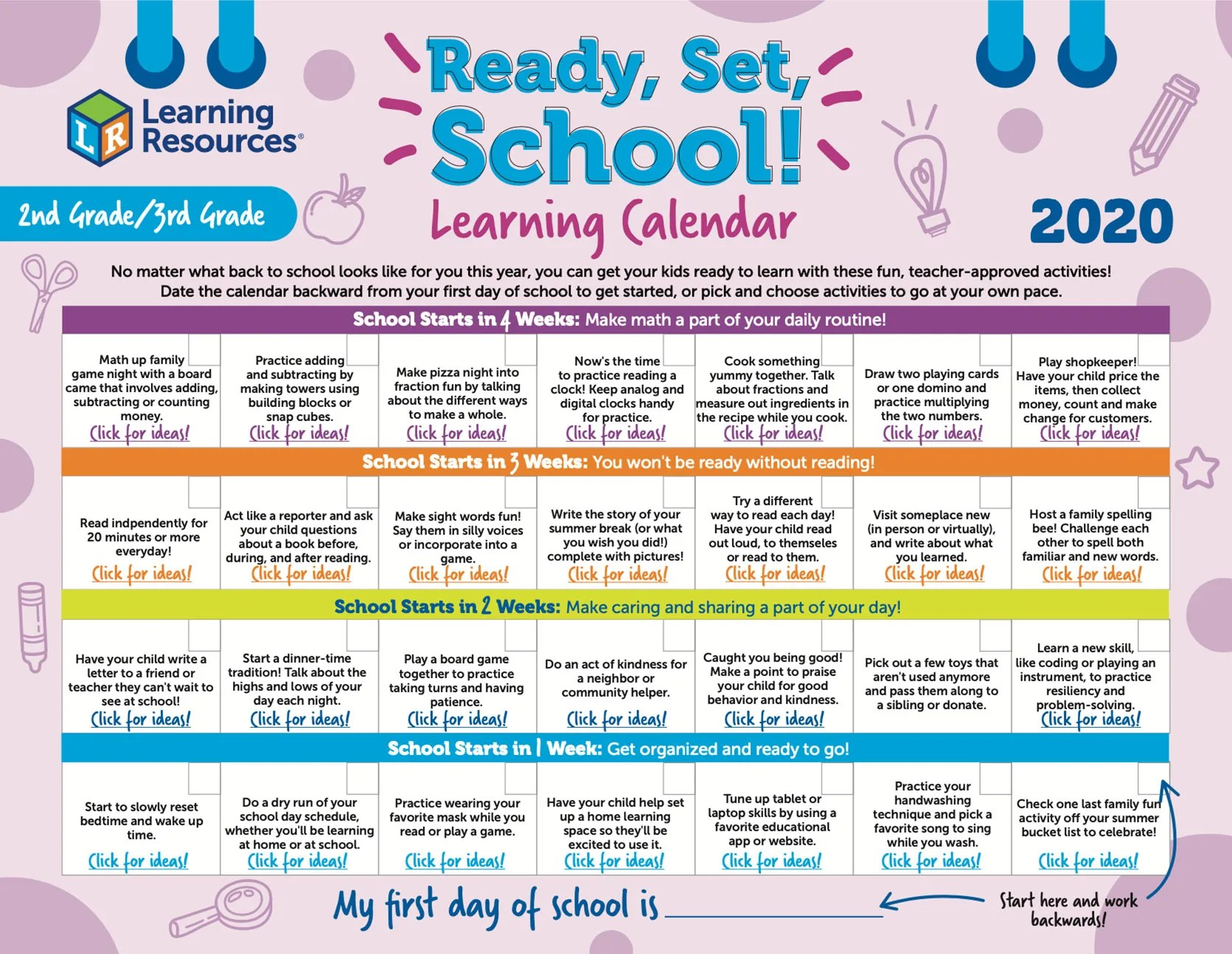 hight resolution of Learning Resources®   Back-to-School Math