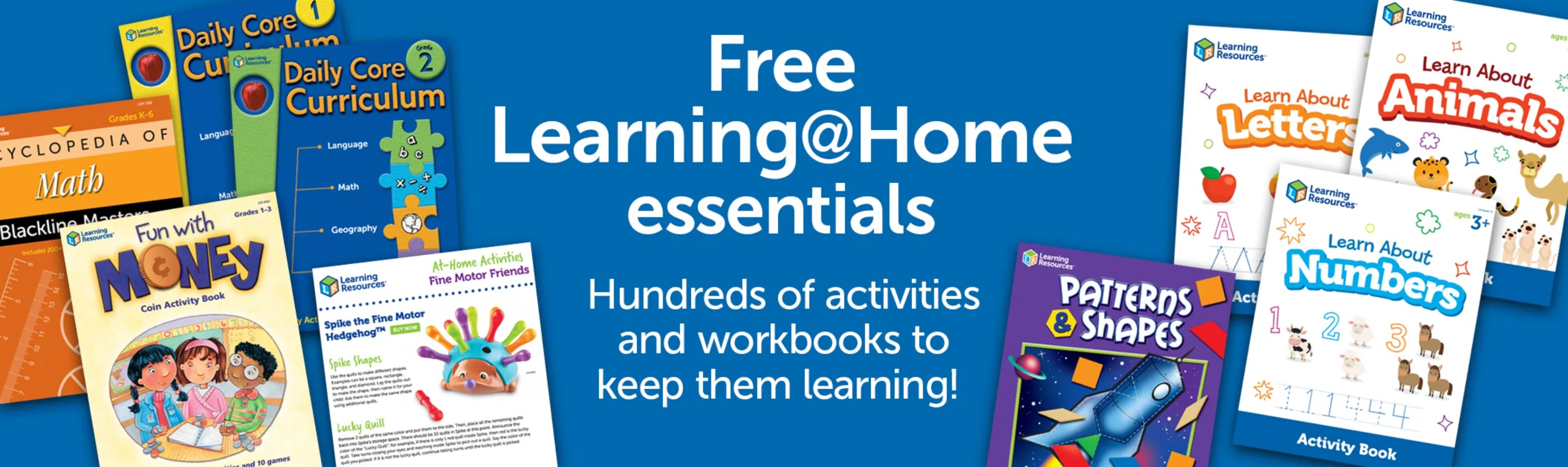 Learning At Home And Free Educational Resources For