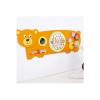 Bear Activity Wall Panel Toy* - from Learning SPACE UK