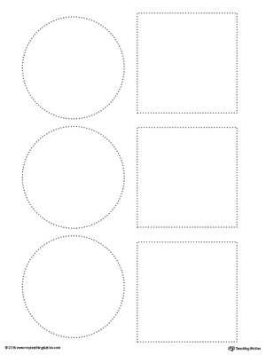 Line Tracing Obstacle Course Race Worksheet in Color