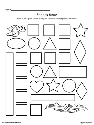 Geometric Shape Builder Worksheet: Diamond