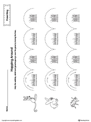 Early Childhood Scissor Skills Worksheets