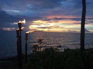 Sunset after an Island Rainstorm, Fiji