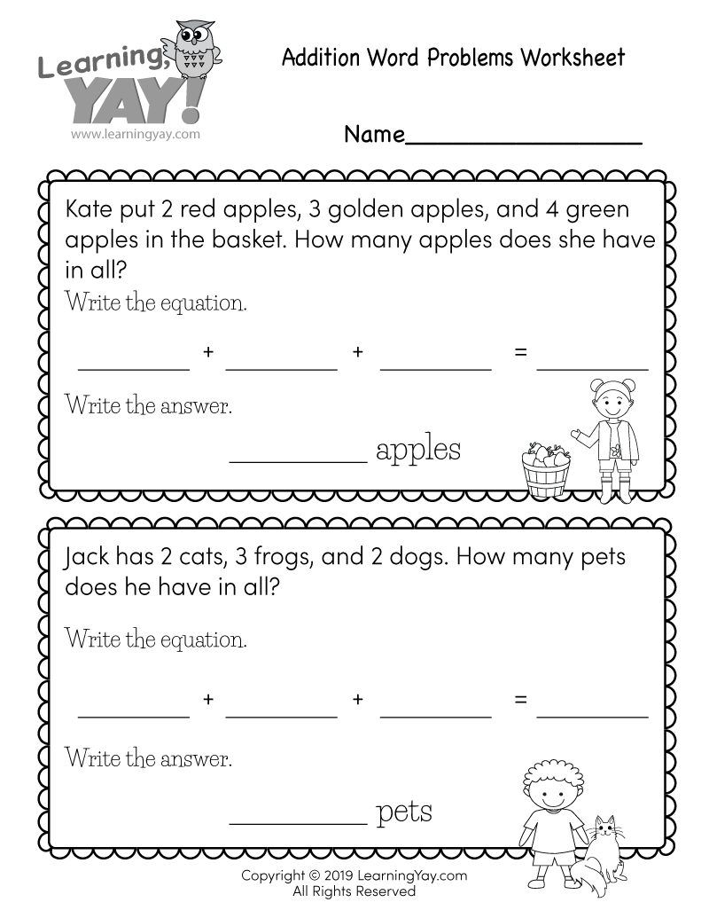 medium resolution of 1st Grade Math Worksheets (Free Printables)