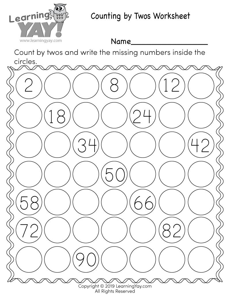 1st Grade Math Worksheets (Free Printables)