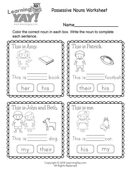 small resolution of 1st Grade Worksheets - Free PDFs and Printer-Friendly Pages