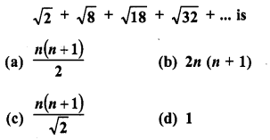 RD Sharma Class 10 Solutions Chapter 5 Arithmetic Progressions MCQS 23