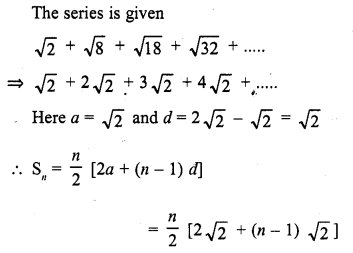 RD Sharma Class 10 Solutions Chapter 5 Arithmetic Progressions MCQS 24