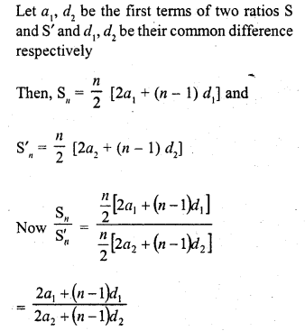 RD Sharma Class 10 Solutions Chapter 5 Arithmetic Progressions MCQS 42