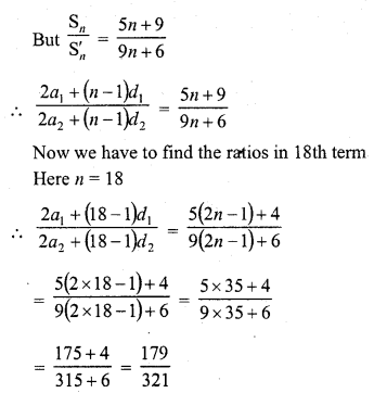 RD Sharma Class 10 Solutions Chapter 5 Arithmetic Progressions MCQS 43
