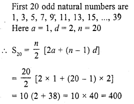 RD Sharma Class 10 Solutions Chapter 5 Arithmetic Progressions MCQS 50