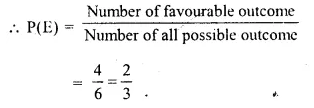 Selina Concise Mathematics Class 10 ICSE Solutions Chapter 25 Probability Ex 25A Q11.2