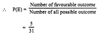 Selina Concise Mathematics Class 10 ICSE Solutions Chapter 25 Probability Ex 25A Q15.2
