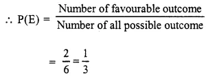 Selina Concise Mathematics Class 10 ICSE Solutions Chapter 25 Probability Ex 25A Q3.1