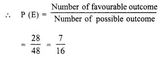 Selina Concise Mathematics Class 10 ICSE Solutions Chapter 25 Probability Ex 25B Q11.4