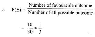 Selina Concise Mathematics Class 10 ICSE Solutions Chapter 25 Probability Ex 25B Q13.1