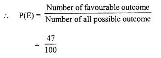 Selina Concise Mathematics Class 10 ICSE Solutions Chapter 25 Probability Ex 25B Q2.5