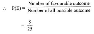 Selina Concise Mathematics Class 10 ICSE Solutions Chapter 25 Probability Ex 25B Q3.1