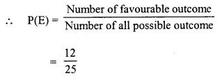 Selina Concise Mathematics Class 10 ICSE Solutions Chapter 25 Probability Ex 25B Q3.4