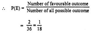 Selina Concise Mathematics Class 10 ICSE Solutions Chapter 25 Probability Ex 25B Q6.1
