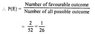 Selina Concise Mathematics Class 10 ICSE Solutions Chapter 25 Probability Ex 25B Q9.5