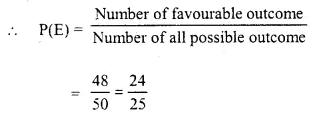 Selina Concise Mathematics Class 10 ICSE Solutions Chapter 25 Probability Ex 25C Q10.2