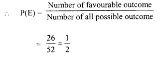 Selina Concise Mathematics Class 10 ICSE Solutions Chapter 25 Probability Ex 25C Q19.5