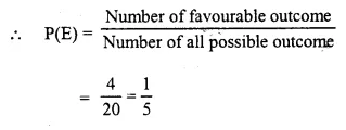 Selina Concise Mathematics Class 10 ICSE Solutions Chapter 25 Probability Ex 25C Q23.1