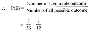 Selina Concise Mathematics Class 10 ICSE Solutions Chapter 25 Probability Ex 25C Q26.4