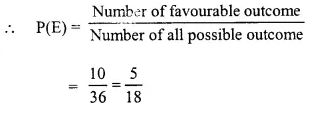 Selina Concise Mathematics Class 10 ICSE Solutions Chapter 25 Probability Ex 25C Q26.5