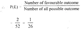 Selina Concise Mathematics Class 10 ICSE Solutions Chapter 25 Probability Ex 25C Q3.3