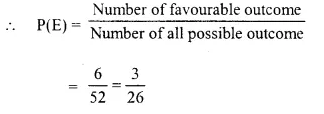 Selina Concise Mathematics Class 10 ICSE Solutions Chapter 25 Probability Ex 25C Q3.6