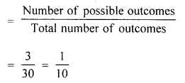 Selina Concise Mathematics Class 10 ICSE Solutions Chapter 25 Probability Ex 25C Q35.1