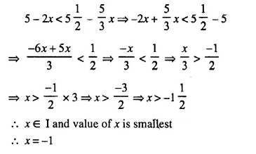 Selina Concise Mathematics Class 10 ICSE Solutions Chapter 4 Linear Inequations Ex 4A 8.1