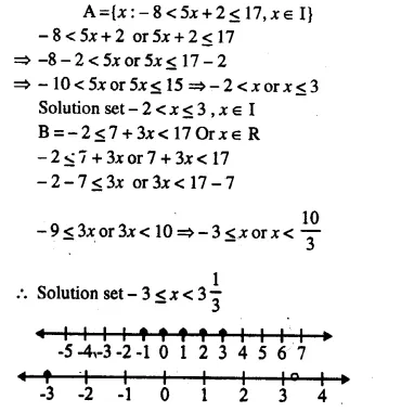 Selina Concise Mathematics Class 10 ICSE Solutions Chapter 4 Linear Inequations Ex 4B 21.1