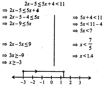Selina Concise Mathematics Class 10 ICSE Solutions Chapter 4 Linear Inequations Ex 4B 22.1