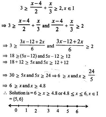 Selina Concise Mathematics Class 10 ICSE Solutions Chapter 4 Linear Inequations Ex 4B 23.2
