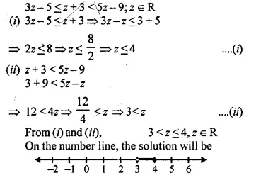 Selina Concise Mathematics Class 10 ICSE Solutions Chapter 4 Linear Inequations Ex 4B 30.1