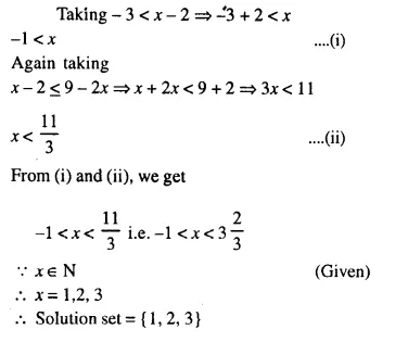 Selina Concise Mathematics Class 10 ICSE Solutions Chapter 4 Linear Inequations Ex 4B 6.1