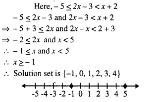 Selina Concise Mathematics Class 10 ICSE Solutions Chapter 4 Linear Inequations Ex 4B 9.1