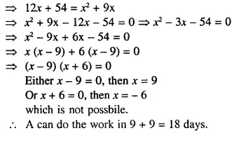 Selina Concise Mathematics Class 10 ICSE Solutions Chapterwise Revision Exercises Q29.2