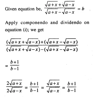 Selina Concise Mathematics Class 10 ICSE Solutions Chapterwise Revision Exercises Q32.2
