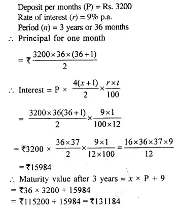 Selina Concise Mathematics Class 10 ICSE Solutions Chapterwise Revision Exercises Q6.1