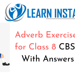 Adverb Exercises for Class 8 CBSE With Answers [ 720 x 1280 Pixel ]